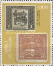 [The 100th Anniversary of the First Postage Stamps of Paraguay (1970), Typ AFH]