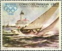 [Airmail - Children in Paintings and Olympic Games - Mexico City, Mexico - Sailing Regatta Paintings, Typ AFU]