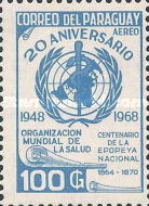 [Airmail - The 20th Anniversary of World Health Organization, Typ AFY2]
