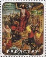 [Airmail - Easter - Stations of the Cross, Typ AKQ]