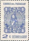 [The 100th Anniversary of First Postage Stamps in Paraguay, Typ AKU]