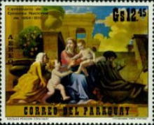 [Airmail - Christmas Paintings, Typ AOW]