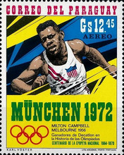 [Airmail - Olympic Games - Munich, Germany (1972), Typ API]