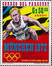 [Airmail - Olympic Games - Munich, Germany (1972), Typ APK]