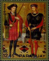 [Airmail - Knights Paintings, Typ APU]