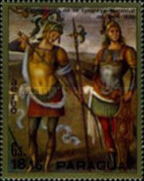 [Airmail - Knights Paintings, Typ APV]