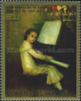 [Airmail - Paintings of Italian Masters and Paintings of the National Museum of Asuncion, Typ AQS]