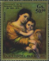 [Airmail - Paintings of Italian Masters and Paintings of the National Museum of Asuncion, Typ AQU]