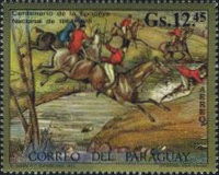 [Airmail - Paintings of Hunting Scenes, Typ ARC]
