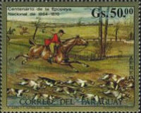 [Airmail - Paintings of Hunting Scenes, Typ ARE]
