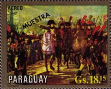 [Airmail - The 150th Anniversary of the Death of Napoleon I, 1769-1821, Typ ASQ]