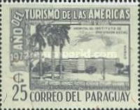 [Airmail - Tourist Year of the Americans, type AVZ]