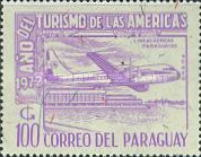 [Airmail - Tourist Year of the Americans, тип AWB]