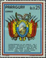 [Visit of the Presidents of Argentina, Bolivia and Brazil in Paraguay, тип AWF]