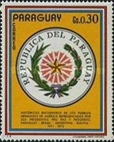[Visit of the Presidents of Argentina, Bolivia and Brazil in Paraguay, type AWG]