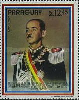 [Airmail - Visit of the Presidents of Argentina, Bolivia and Brazil in Paraguay, тип AWJ]