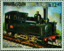 [Airmail - Old Locomotives, type AWV]