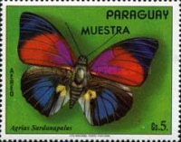 [Airmail - South American Butterflies, Typ AYB]