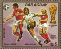 [Airmail - Football World Cup -  West Germany 1974, Typ AZR]