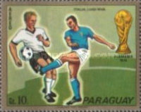[Airmail - Football World Cup -  West Germany 1974, Typ AZS]