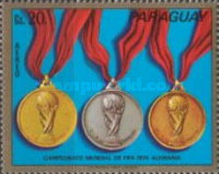 [Airmail - Football World Cup -  West Germany 1974, Typ AZT]