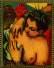 [Airmail - Paintings - Women of Venice, Typ BAC]