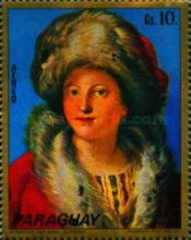 [Airmail - Paintings - Women of Venice, Typ BAD]