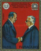 [Airmail - State Visit of President Alfredo Stroessner in Europe and Morocco, Typ BBI]