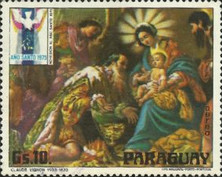 [Airmail - Christmas - Holy Year - Paintings, Typ BKP]