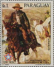 [The 200th Anniversary of the Independence of the United States of America - Wild West Paintings, Typ BOH]