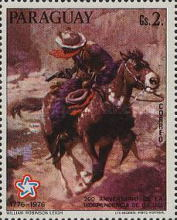 [The 200th Anniversary of the Independence of the United States of America - Wild West Paintings, Typ BOI]