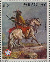 [The 200th Anniversary of the Independence of the United States of America - Wild West Paintings, Typ BOJ]