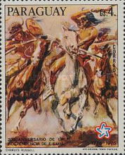 [The 200th Anniversary of the Independence of the United States of America - Wild West Paintings, Typ BOK]