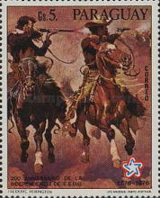 [The 200th Anniversary of the Independence of the United States of America - Wild West Paintings, Typ BOL]