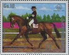 [Airmail - Gold Medal Winners of the Summer Olympic Games - Montreal, Canada, Typ BOW]
