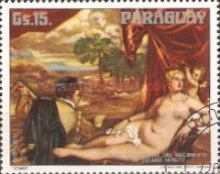 [Airmail - The 500th Anniversary of the Birth of Titian, 1488-1576, Typ BPI]