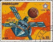 [Airmail - The 200th Anniversary of the Independence of the United States of America - Space Travel, Typ BQA]
