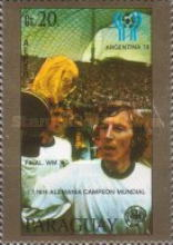 [Airmail - Football World Cup - Argentina 1978, Typ BTN]