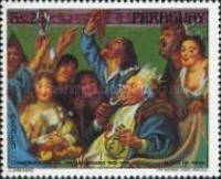 [Airmail - The 300th Anniversary of the Death of Jacob Jordaens, 1593-1678, Typ BUS]
