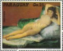 [Airmail - The 150th Anniversary of the Death of Francisco de Goya, 1746-1828, Typ BVO]