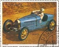 [Airmail - Racing Cars, Typ BWI]