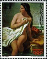 [International Stamp Exhibition - Paintings from the Exhibition Standardized Countries, Typ BXJ]