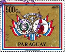 [Airmail - Re-election of General Alfredo Stroessner as President of Paraguay, Typ BXT]