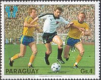[Scenes of the Play in the Football World Cup - Argentina (1978), Typ BYW]
