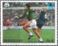 [Scenes of the Play in the Football World Cup - Argentina (1978), Typ BZA]