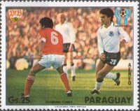 [Airmail - Scenes of the Play in the Football World Cup - Argentina (1978), Typ BZD]