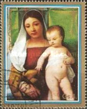 [Christmas and Madonna Paintings from the Museum of Art History, Vienna, Typ BZG]