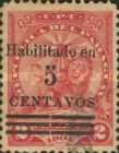 [Previously Issued Stamps Surcharged, type CB3]