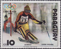 [Airmail - Winter Olympic Games - Lake Placid, USA (1980), Typ CBO]