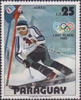 [Airmail - Winter Olympic Games - Lake Placid, USA (1980), Typ CBP]